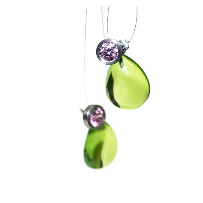 Sonja Martin Design Ohrringe grün